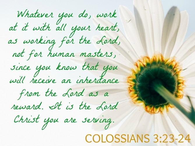 Colossians 23-24