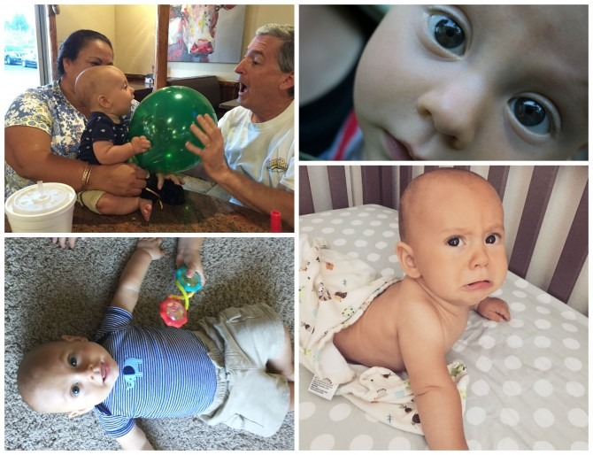 Charlie 7 Month Collage