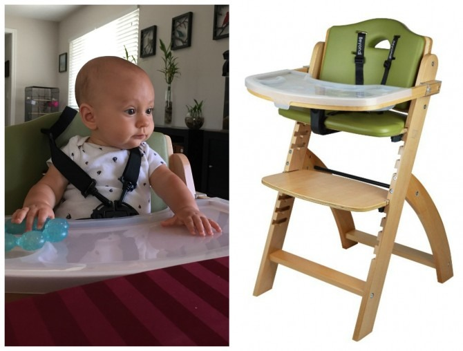 Charlie's high chair