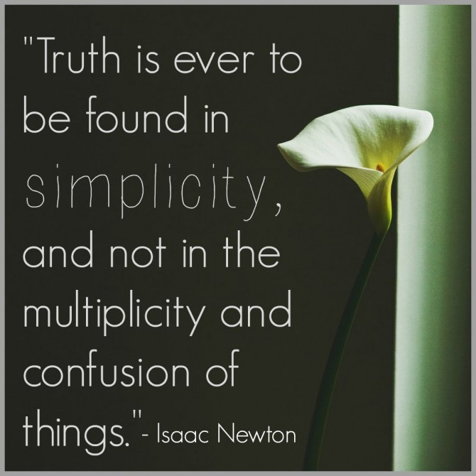 Quotable from Isaac Newton