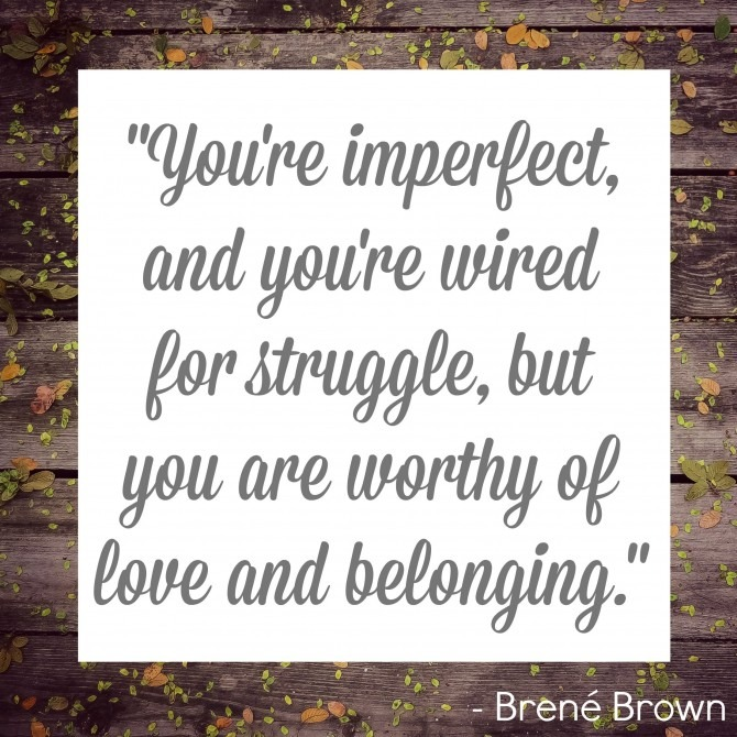 BrenéBrown Quote
