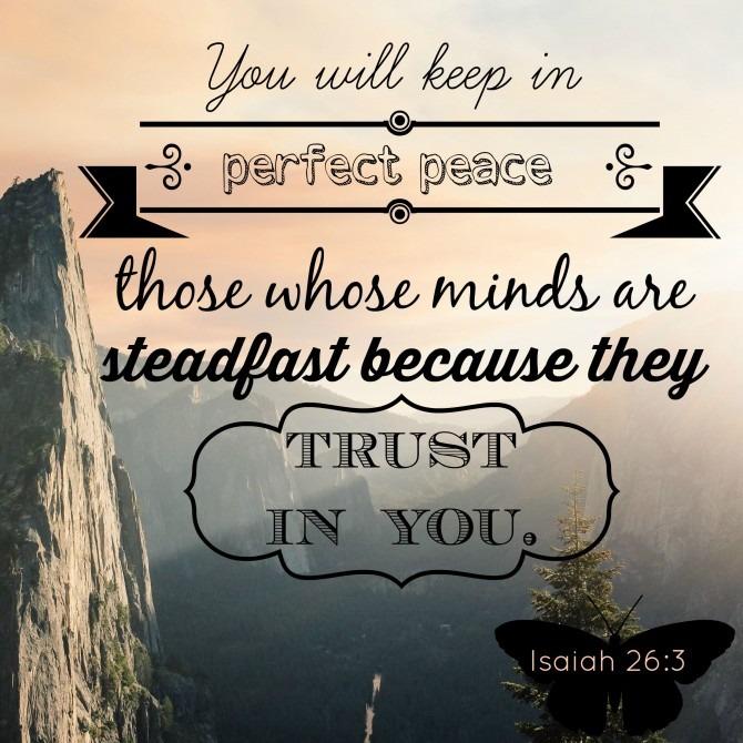 Isaiah 26:3