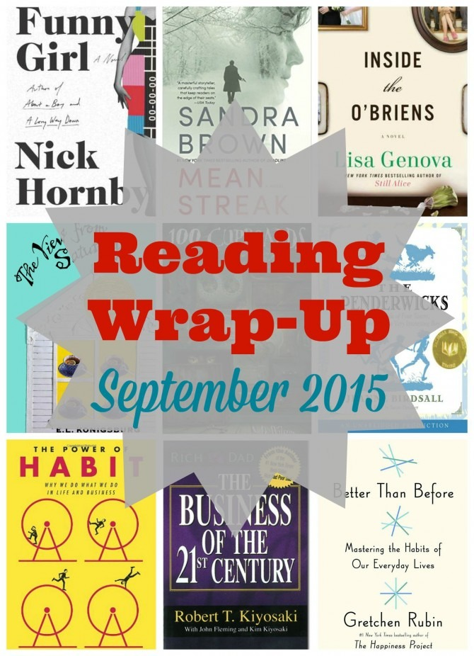 Reading Wrap-Up September 2015