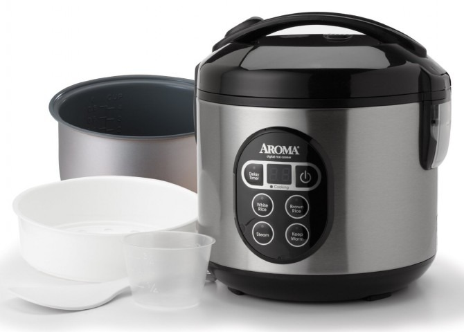 Aroma 8-Cup Rice Cooker