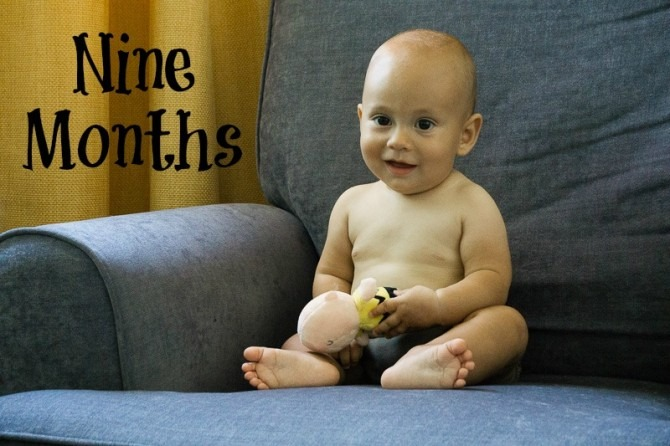 Charlie and Charlie Brown at Nine Months