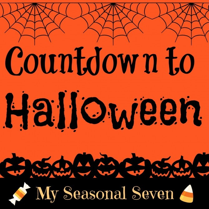 Seasonal Seven: Countdown to Halloween | KendraNicole.net