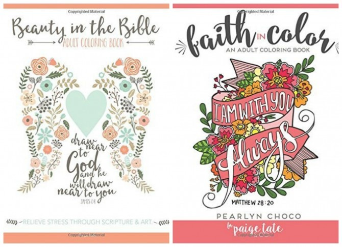 Faith Coloring Books