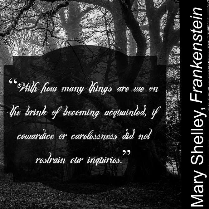 Quotable from Mary Shelley