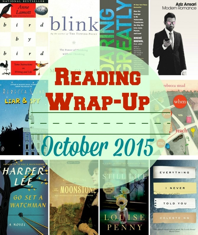Reading Wrap-Up October 2015