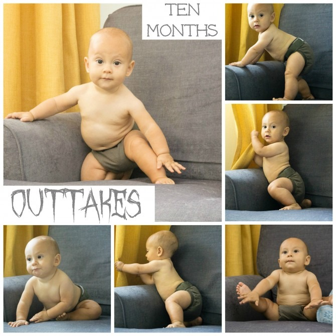 Charlie 10 Months Outtakes