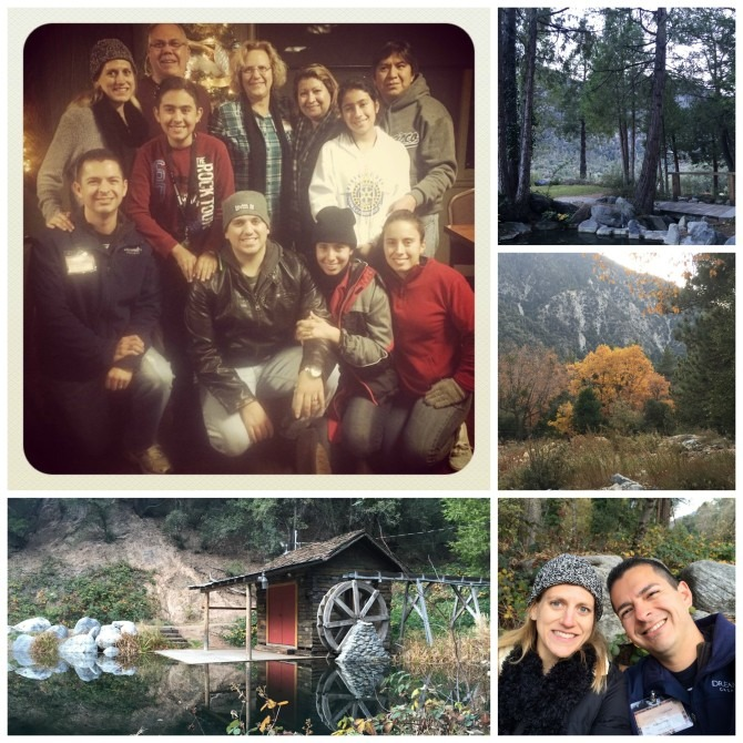 Scenes from last year's family camp, when I was seven months pregnant with Charlie.