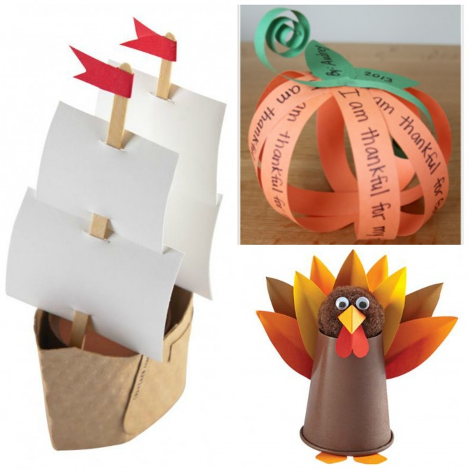 Fun Thanksgiving Crafts