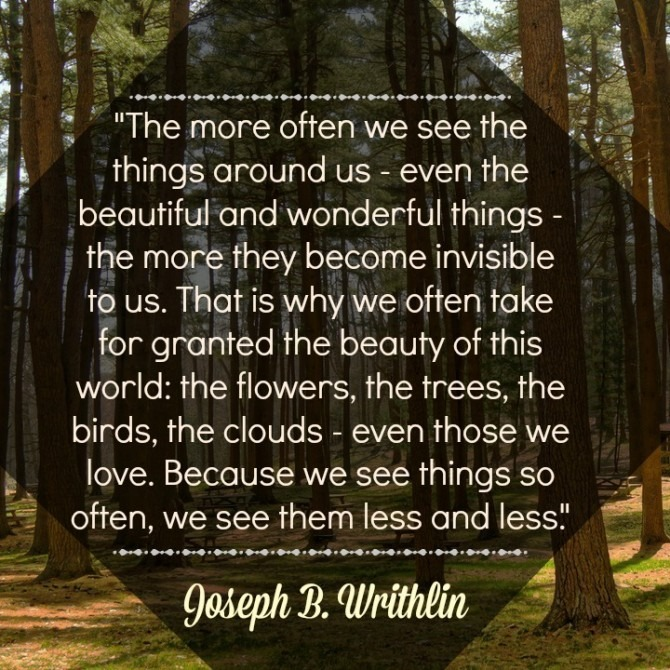 Quotable from Joseph B. Writhlin