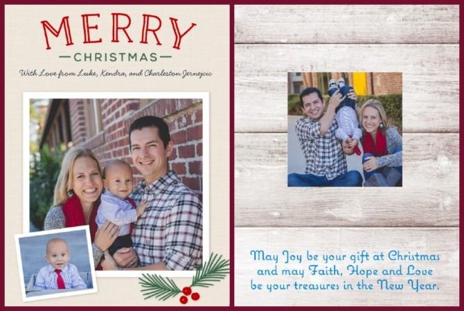 Camily Christmas Cards