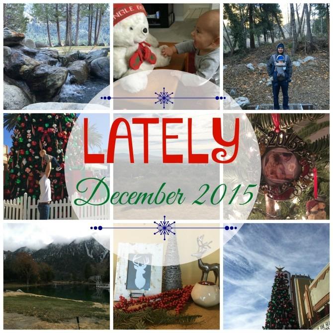December 2015 Lately
