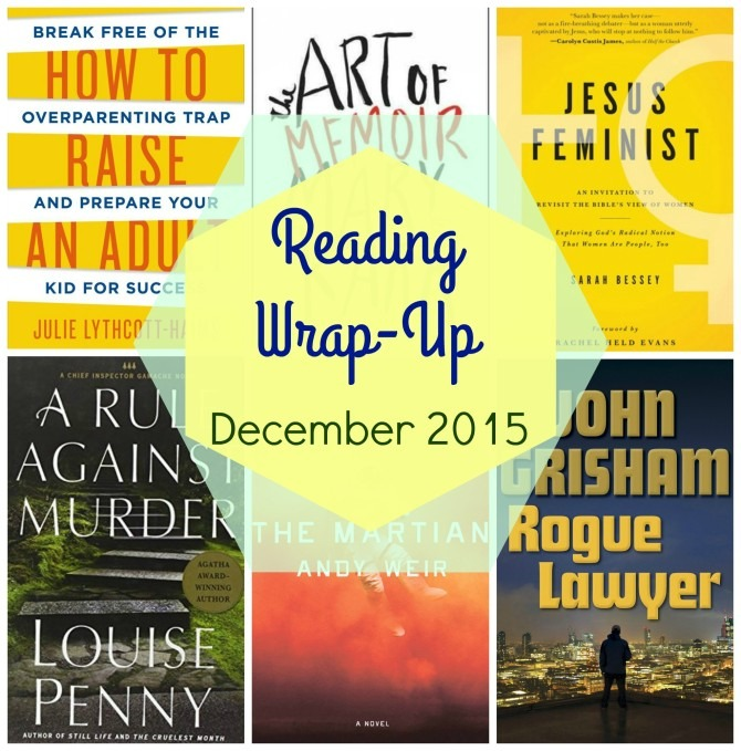 Reading Wrap-Up December 2015