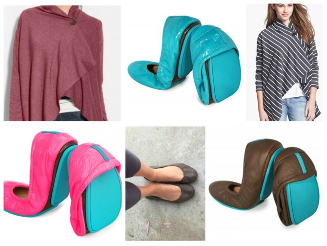 Tieks and Bobeau Cardigans