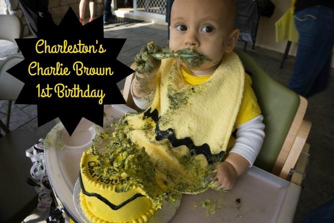 Charleston's Charlie Brown First Birthday