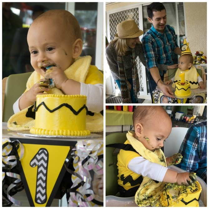 Charlie's First Birthday