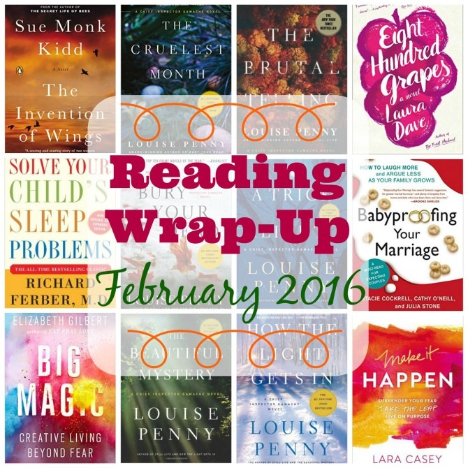 February 2016 Reading Wrap-Up