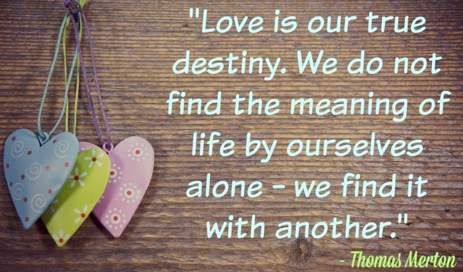 Quotble from Thomas Merton