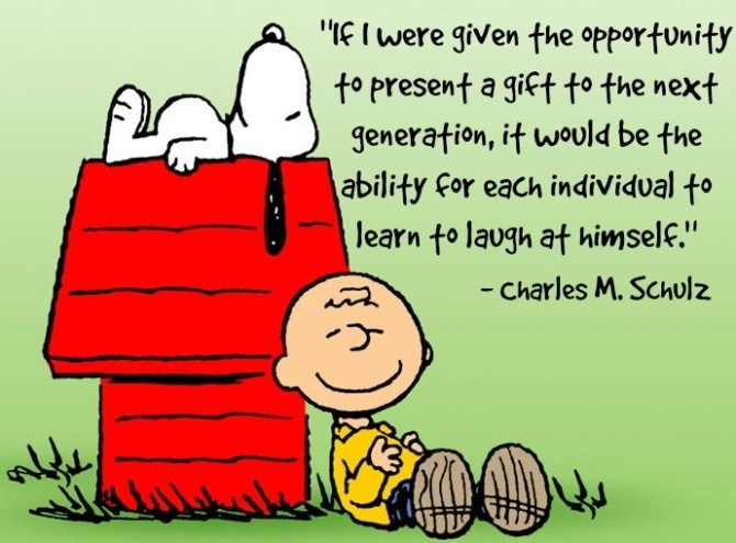 Quote from Charles Schulz