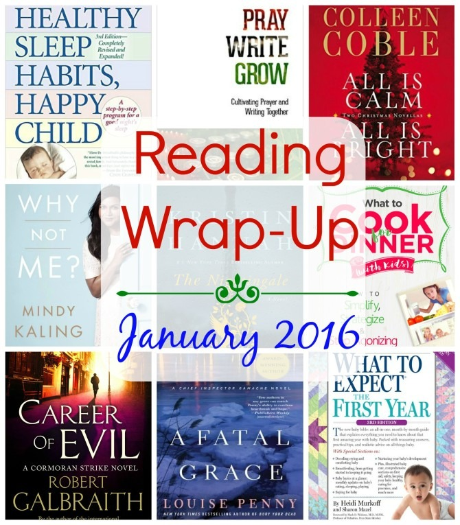 Reading Wrap-Up January 2016