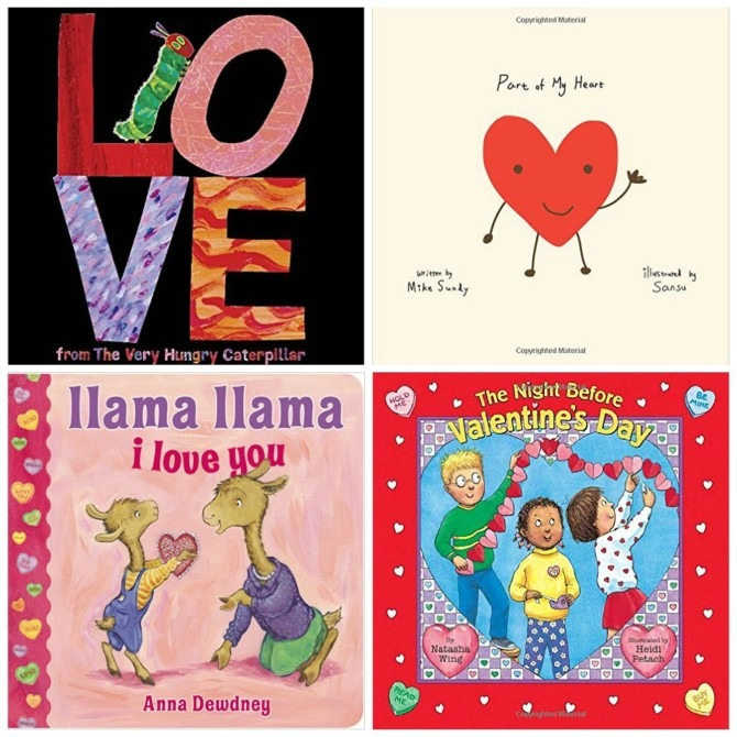 4 Valentine's Day Children's Books