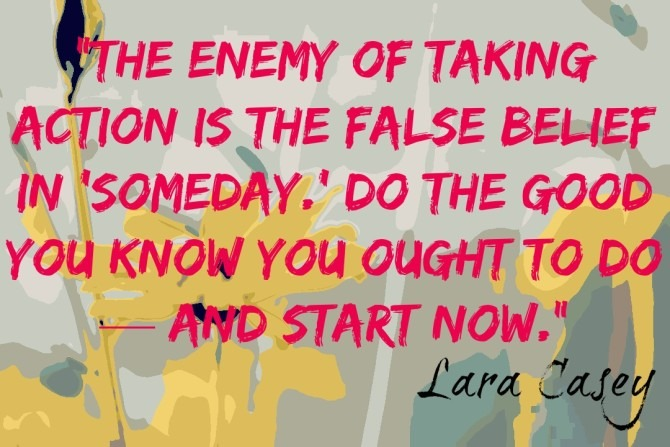 Quote from Lara Casey