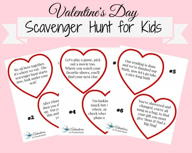 Family Valentine's Activity
