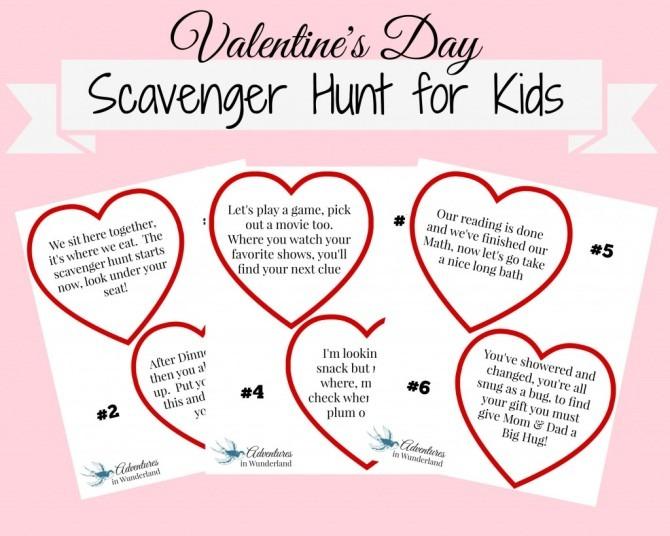Family Valentine's Activity