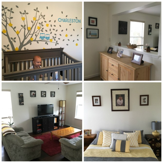 A few of my favorite spots in our mostly-decorated home.
