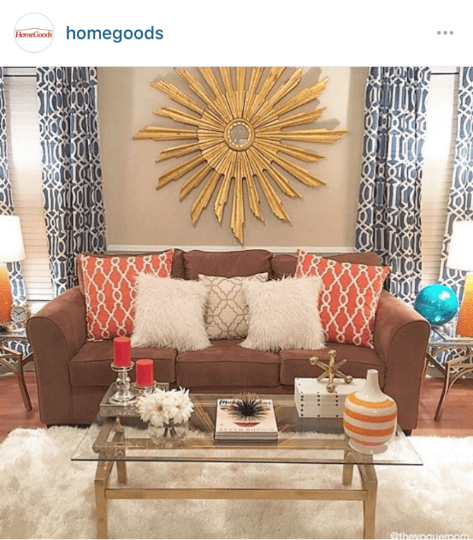 Home Goods Instagram