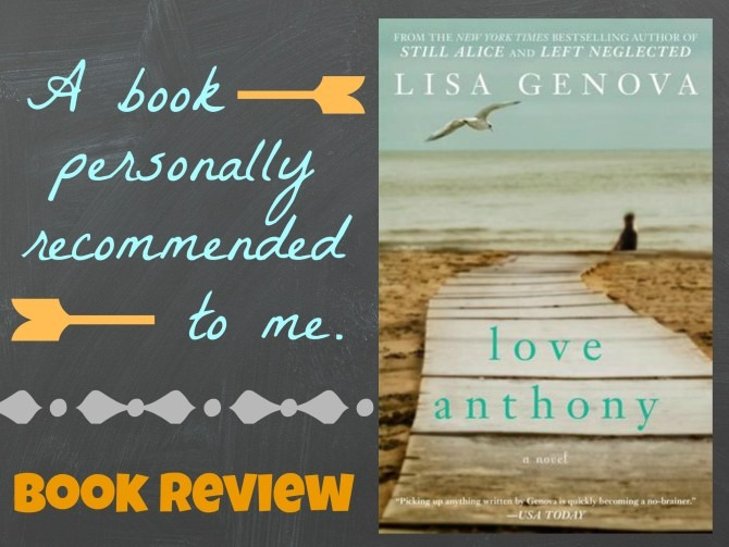 Love Anthony Book Review