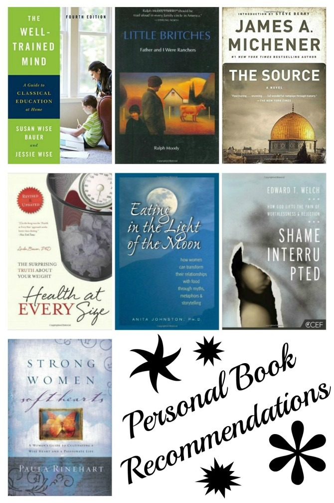 Personal Book Recommendations