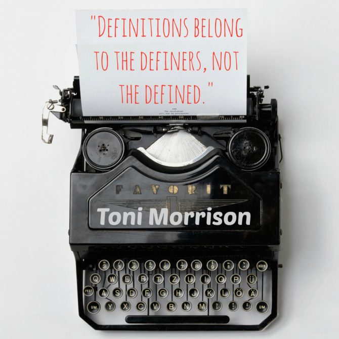 Quotable from Toni Morrison