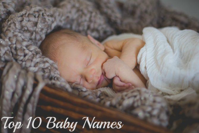 Top 10 Baby Names