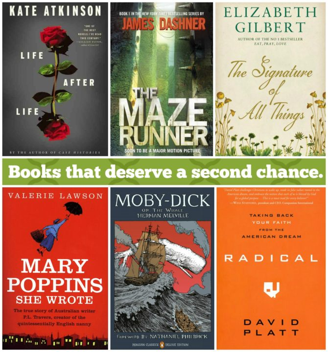 Books that deserve a second chance.