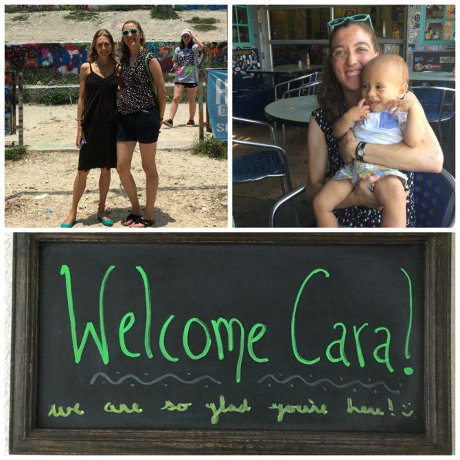 Cara's Visit