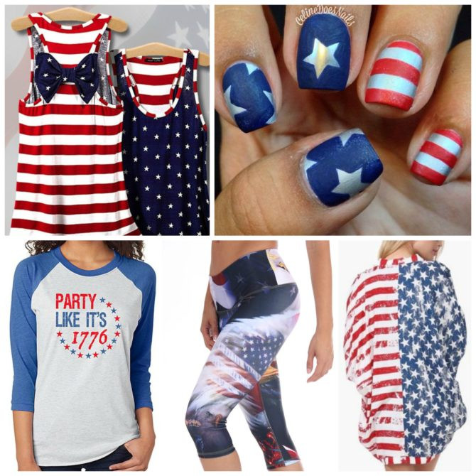 Flag-Tastic Fashion Statements