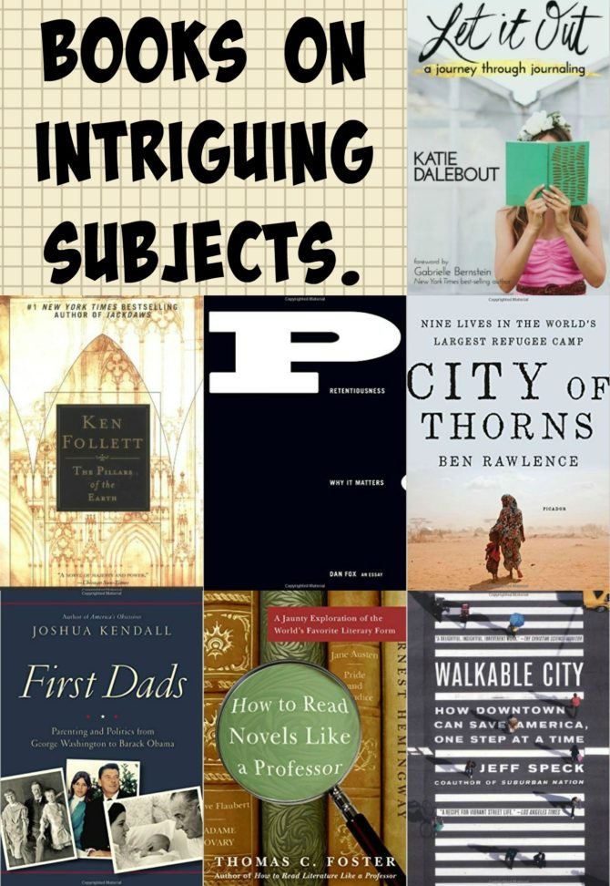 Books on intriguing subjects