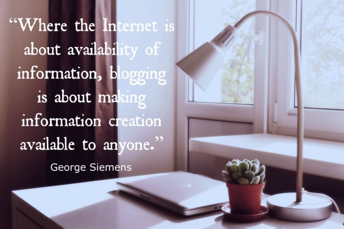 George Siemens Quote