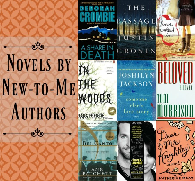 Novels by New-to-Me Authors
