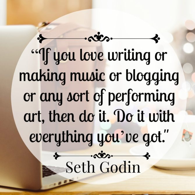 Quote from Seth Godin