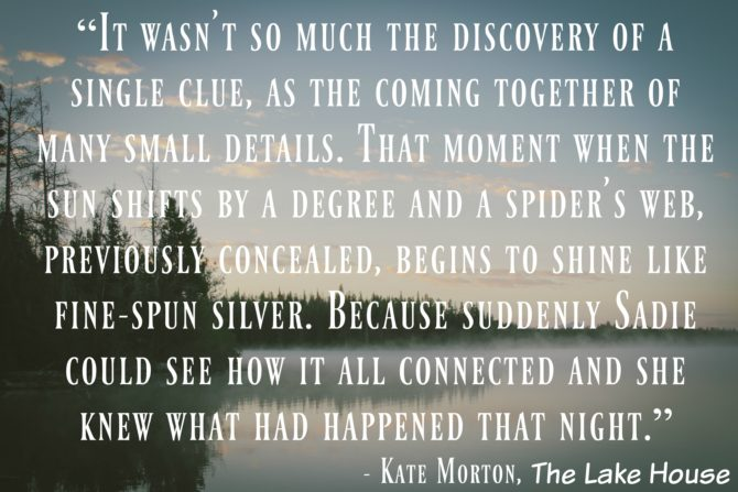The Lake House Quote