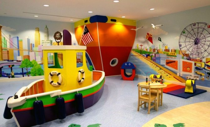 Ship-Themed Playroom