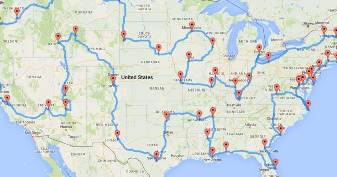 United States Road Trip