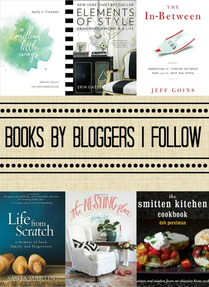 Books By Bloggers I Follow