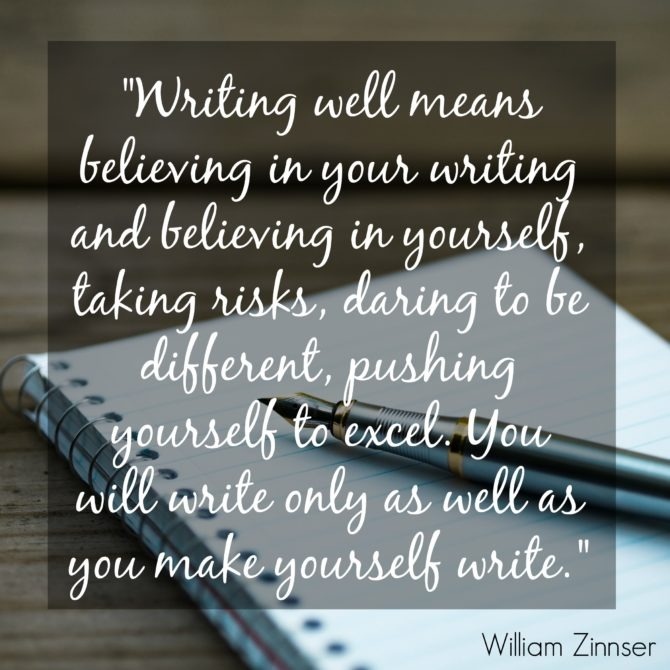 William Zinnser Quote Writing Well
