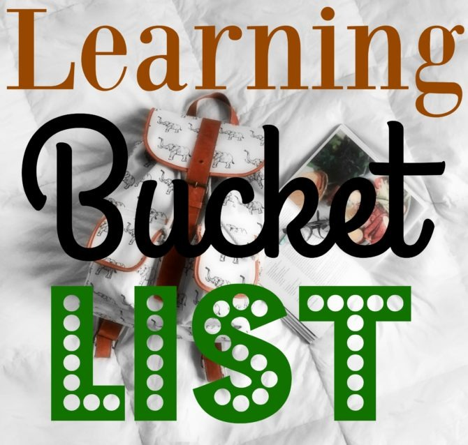 learning-bucket-list